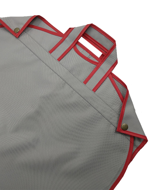 Case for children's clothing  Dance gray-red 80cm