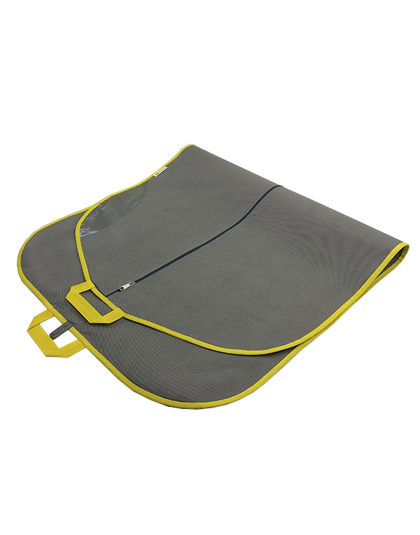 Clothes bag Bright Suit gray-yellow 140 cm