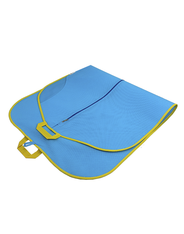 Clothes bag Bright Suit blue-yellow
