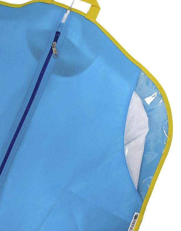 Clothes bag Bright Suit blue-yellow 110 cm