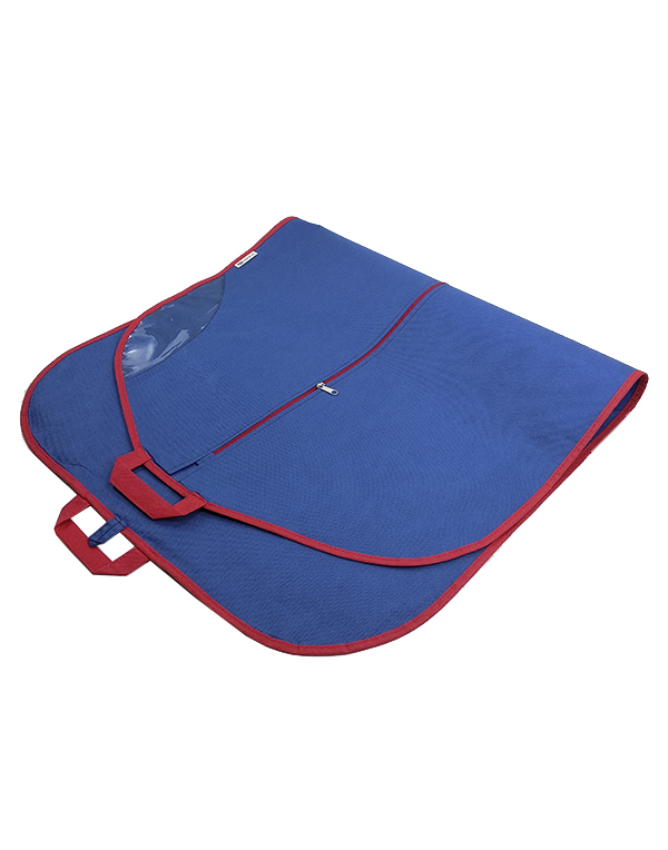 Clothes bag Bright Suit navy-red 110 cm